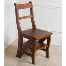 Who Invented The Swivel Chair by The Benjamin Franklin Library Ladder Chair Hammacher Schlemmer