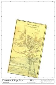 Franklin Ma Map Village Maps Mcc Historic Town Maps