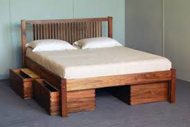 How To Build A Twin Platform Bed With Storage by Diy Storage Platform Bed Plans Do It Your Self
