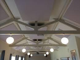 acoustic treatment panels at sandon village hall amadeus