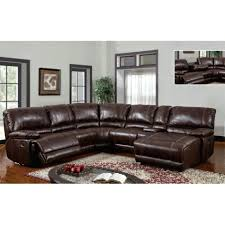 Modern Sectional Sofa With Chaise Recliner Furniture Microfiber Sectional Sofa With Recliner And