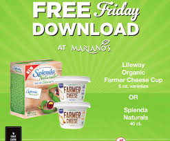 lifeway black friday mariano u0027s free lifeway organic farmer cheese cup and splenda