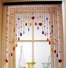 beaded curtains bring fascination back wearefound home design