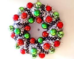 silver tinsel christmas wreath hgtv