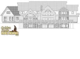 golden eagle log and timber homes floor plan details log mansion