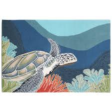 Kohls Outdoor Rugs by Ocean Imports Liora Manne Front Porch Ravella Akumal Turtle Indoor