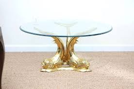 brass tables for sale dolphin coffee tables stunning dolphin glass top dining coffee table