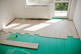 How To Install Laminate Flooring In A Basement How To Install Laminate Flooring On Uneven Concrete Flooring Designs