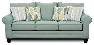 Throws And Cushions For Sofas Brubeck Soft Teal High Density Foam Cushion Sofa Contemporary