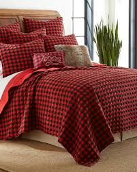 exclusively ours buffalo check flannel quilt bedding collections