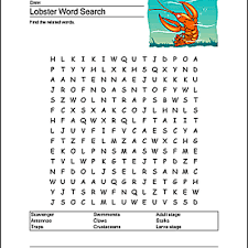 earthquake printables word search