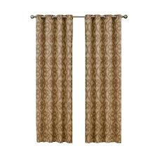 Eclipse Thermalayer Curtains by Eclipse Bobbi Blackout Pewter Polyester Curtain Panel 84 In