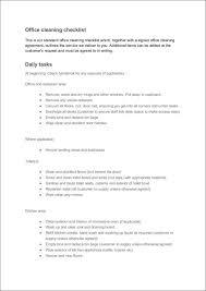office maintenance checklist template eliolera com