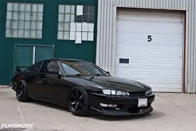 nissan 240sx 1998 nissan 240sx s14 custom masculine styling makes the 240sx