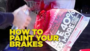 lexus yellow brake calipers how to paint your brake calipers diy youtube