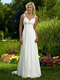 garden wedding dresses garden wedding gown chiffon fabric empire dress wd 0043 442 48