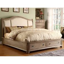 Bedroom Decorating Ideas With Sleigh Bed Coventry Upholstered Sleigh Storage Bed In Weathered Driftwood By