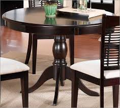 Cherry Wood Round Dining Table MonclerFactoryOutletscom - Black dining table with cherry top