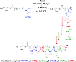 sequence controlled multi block copolymerization of acrylamides