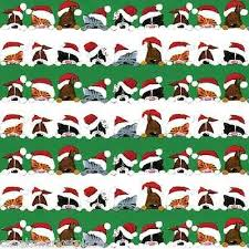 custom christmas wrapping paper 7 best cat wrapping paper must images on