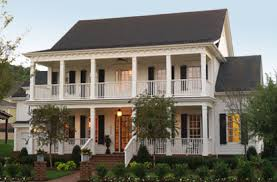 Southern Style Homes by Southern Style Home With Wide Covered Verandas Southern Homes
