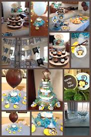monkey baby shower theme nautical theme baby shower favors decorating of party