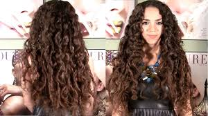 l hairstyles for long hair for 40 years old no heat curls curls without heat hair tutorial no braids or