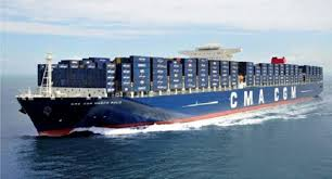 bureau of shipping marseille cma cgm marco polo the largest container ship in the