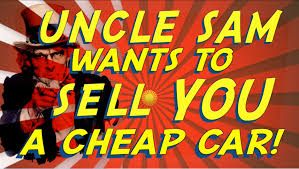 how to buy a cheap car from uncle sam government auto auctions