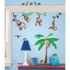 interior ba nursery kids room curtain design in current stylish full size of interior jungle safari wall decals wayfair studio designs monkey business decal baby room