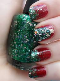 christmas nail art idea round up adventures in acetone