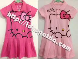 desain baju gaun anak cantiknya dress hello kitty page title grosir kaos anak