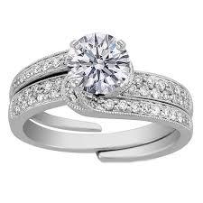 interlocking engagement ring wedding band outstanding interlocking wedding band and engagement ring 44 about