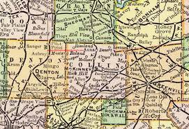 wylie tx map collin county 1897 map