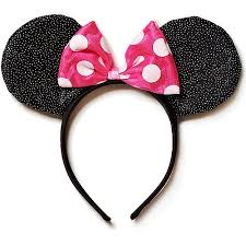 headband supplies minnie mouse deluxe bow headband party supplies walmart