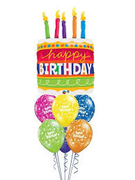 deliver birthday cake and balloons big birthday cake bouquet gifts in the balloons delivered