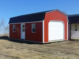 gambrel lofted garages u2022 midwest storage barns