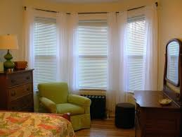 Side Window Curtains Window Blinds Bay Window Blind Solutions Family Room Picture