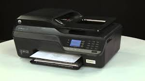 printing a test page hp officejet 4620 e all in one printer