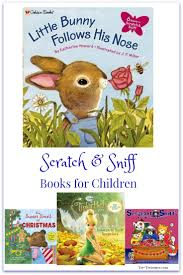 scratch and sniff books are great gifts for kids toy treasures