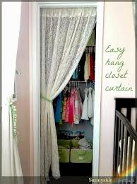 sunnyside up stairs toddler closet curtain