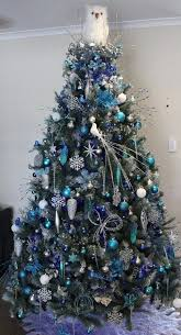 53 best blue and silver christmas trees images on pinterest