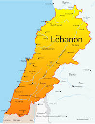 Outline Map Of Africa by Lebanon Map With Cities Blank Outline Map Of Lebanon