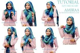 tutorial jilbab ala ivan gunawan 30 gambarnya tutorial hijab segi empat formal untuk anda tutorial