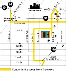 Minneapolis Metro Map by Maps U0026 Directions U2014 Minneapolis Institute Of Art Minneapolis