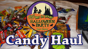 walt disney halloween candy haul from mickey u0027s not so scary