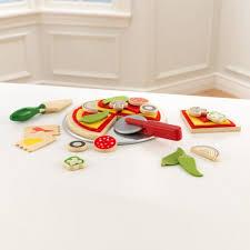 cuisine familiale kidkraft pizza play set