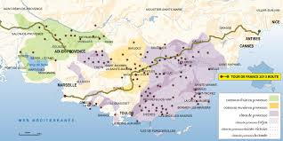 Wine Map Of France by French Wine Third Street Uncorked