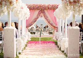 wedding arch entrance extravagant pink wedding at the hotel coronado