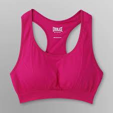 everlast sport women u0027s padded racerback sports bra shop your